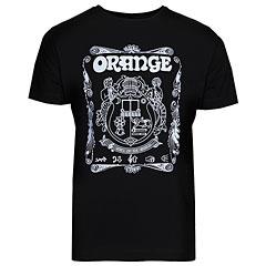 Orange T-Shirt Crest BLK XL « Camiseta manga corta