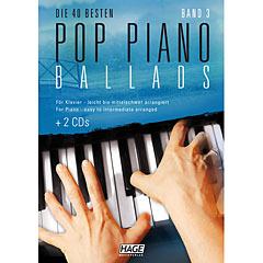 Hage Pop Piano Ballads 3 « Recueil de Partitions