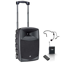 LD-Systems Roadbuddy 10 HS « Set sono PA sur batterie