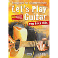Libro di spartiti Hage Let's Play Guitar Pop Rock Hits