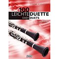 Notenbuch Hage 100 Leichte Duette für 2 Klarinetten