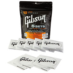 Gibson 5er Pack SVP 700UL 009-042 Brite Wires « Corde guitare électrique