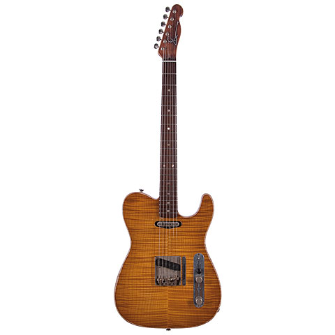 Scala Guitars T-Rod 5A Flamed Maple Top