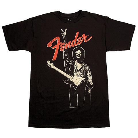 Fender Jimi Hendrix Peace Sign BLK M