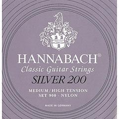 Hannabach 900 MHT Silver 200 « Cuerdas guit. clásica