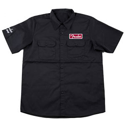 Fender Workshirt BLK XL