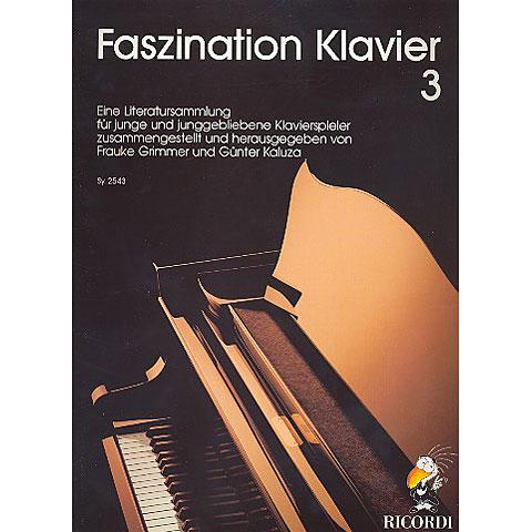 Bladmuziek Ricordi Faszination Klavier Bd.3