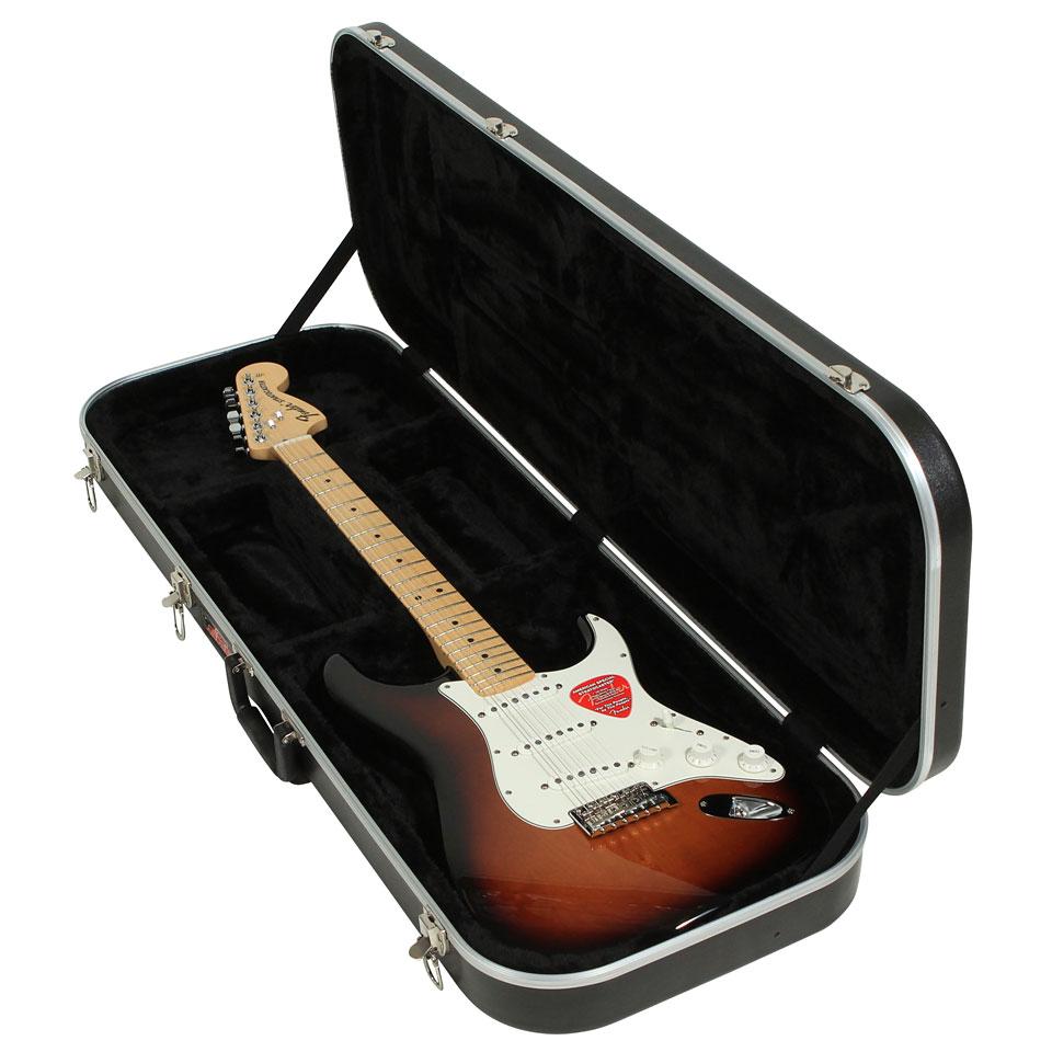 skb 6 electric guitar economy rectangular case electric guitar case. Black Bedroom Furniture Sets. Home Design Ideas