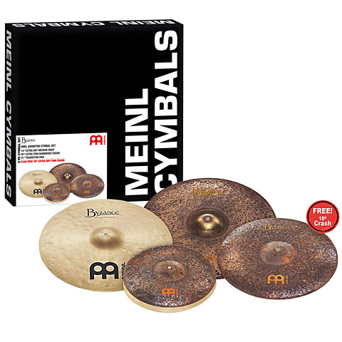Meinl Byzance Vintage Mike Johnston Cymbal Set