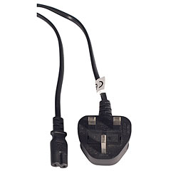 AudioTeknik Power Cable UK Plug > Eurostecker « IEC (Power) Connector
