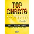 Sångbok Hage Top Charts Gold 10