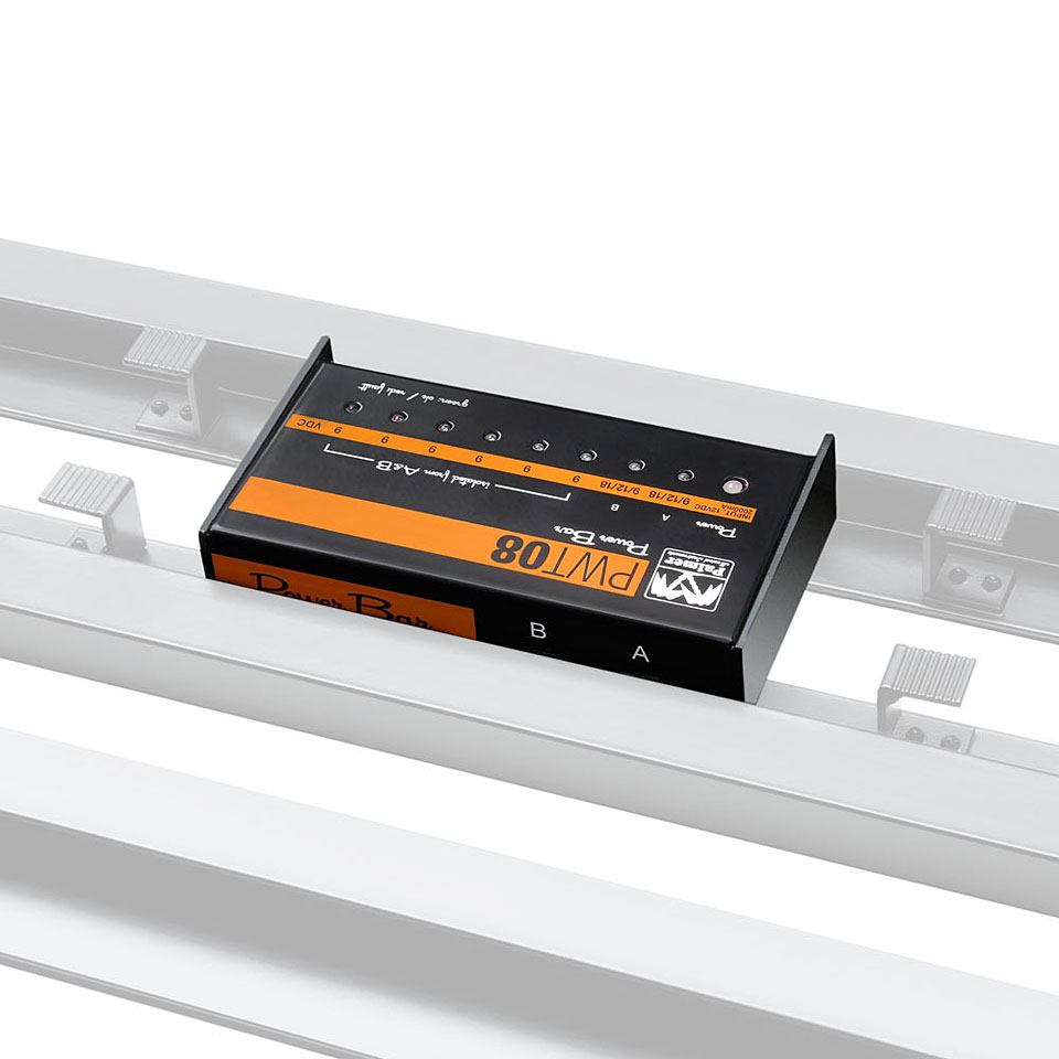 palmer pwt08 pedalboard netzteil guitar bass power supplies. Black Bedroom Furniture Sets. Home Design Ideas