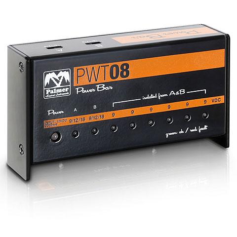 Netzteil Gitarre/Bass Palmer PWT08 Pedalboard Netzteil