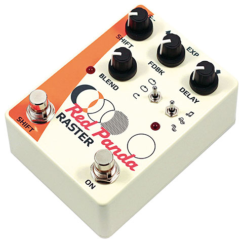 Effektgerät E-Gitarre Red Panda Raster Delay