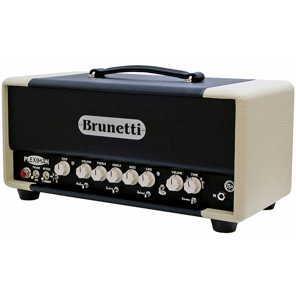 brunetti pleximan 50 head guitar amp head. Black Bedroom Furniture Sets. Home Design Ideas