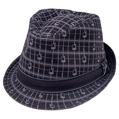 Fender Axe Plaid Fedora L/XL « Cappello
