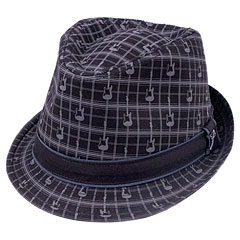 Fender Axe Plaid Fedora S/M « Hut