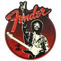 """Artículos de regalo Fender Jimi Hendrix """"Peace Sign"""" Magnet"""