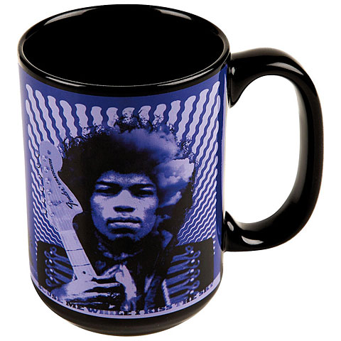 Fender Kaffeetasse Jimi Hendrix  Kiss the Sky  Mug