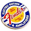 Article cadeau Fender Magnet Clip Guitars and Amps Logo