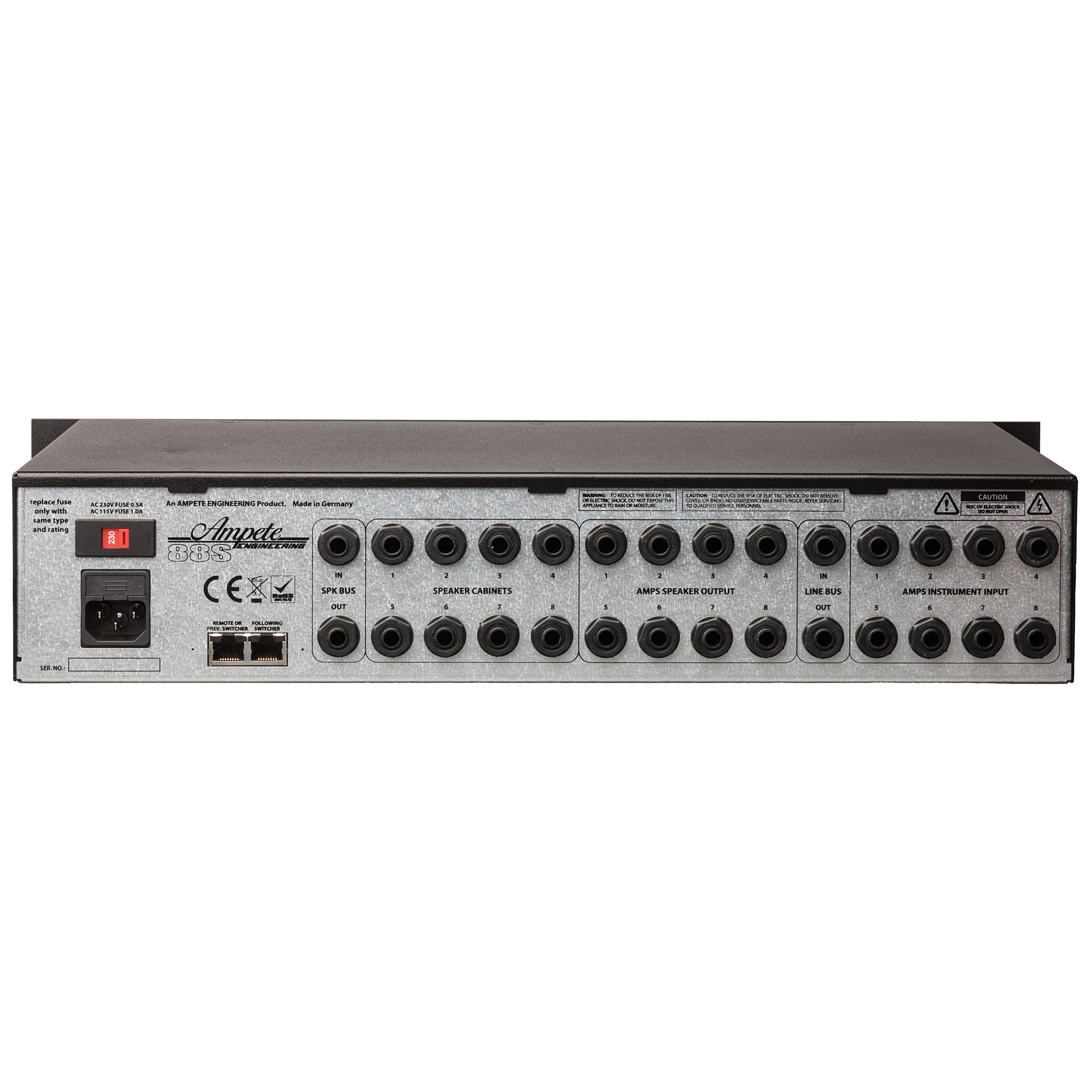 ... Little Helper Ampete 88S Studio Amp/Cabinet Switching System (2)