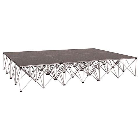 Intellistage Complete 8m², Carpet, 60cm