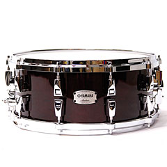 "Yamaha Absolute Hybrid Maple 14"" x 6"" Classic Walnut Snare Drum « Caja"