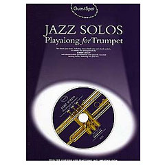 Music Sales Jazz Solos - Playalong for Trumpet « Play-Along