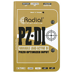 Radial PZ-DI « DI-Box/splitter