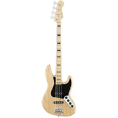 Fender American Elite Jazz Bass ASH MN NAT « Electric Bass Guitar