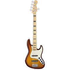 Fender American Elite Jazz Bass V ASH MN TBS « Bas