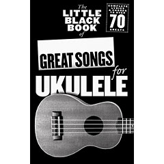 Music Sales The Little Black Book of Great Songs for Ukulele « Recueil de morceaux