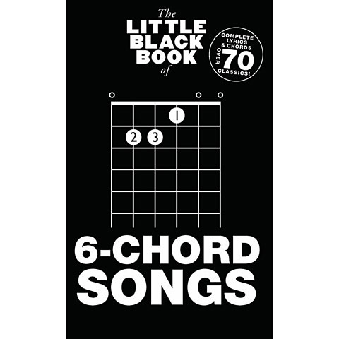 Cancionero Music Sales The Little Black Book of 6-Chord Songs