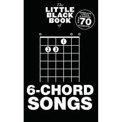 Music Sales The Little Black Book of 6-Chord Songs « Cancionero
