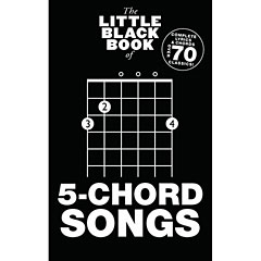 Music Sales The Little Black Book of 5-Chord Songs « Cancionero