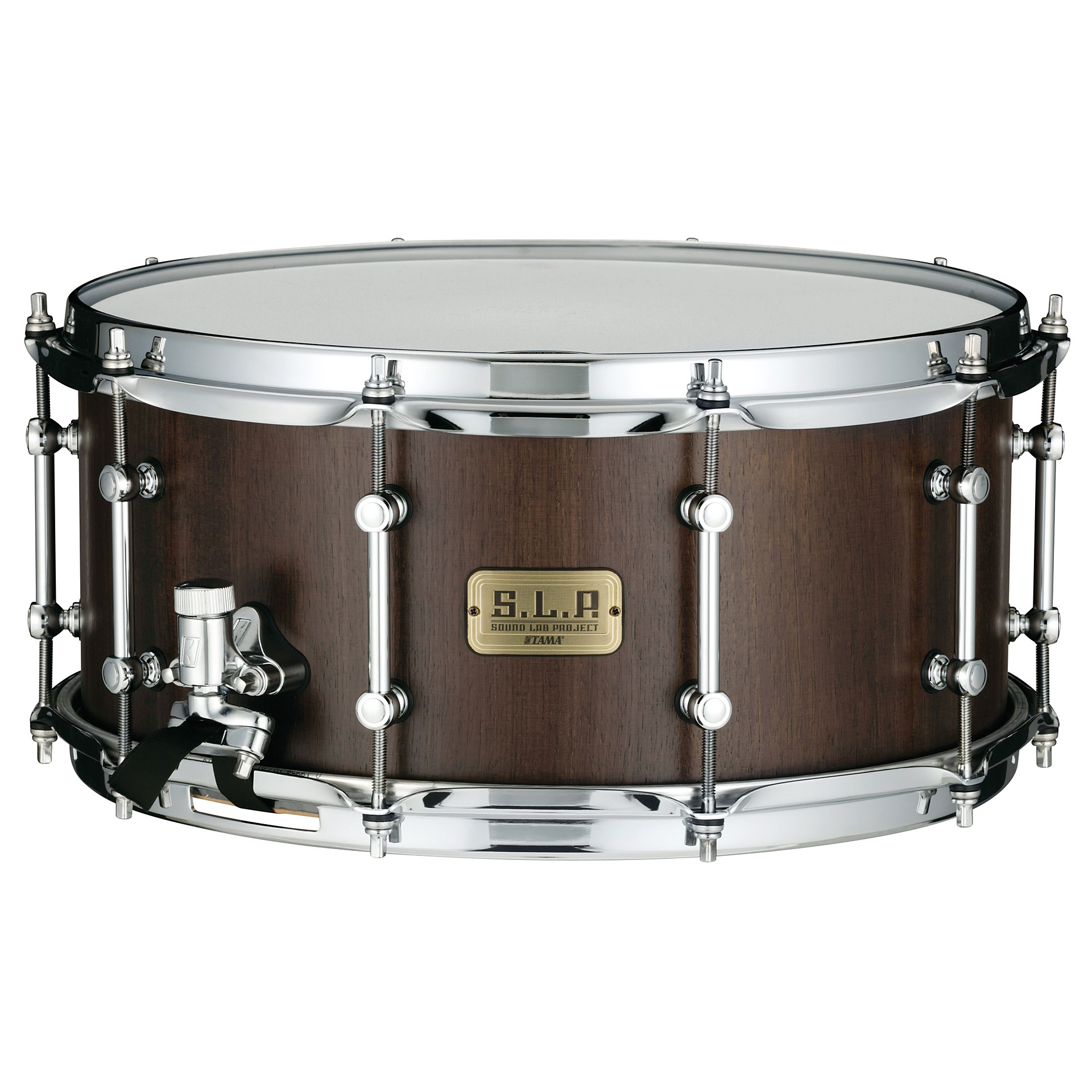 tama s l p 14 x 6 5 g walnut snare snare drum. Black Bedroom Furniture Sets. Home Design Ideas