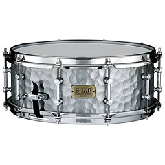 "Tama S.L.P. 14"" x 5,5"" Vintage Hammered Steel Snare « Caisse claire"