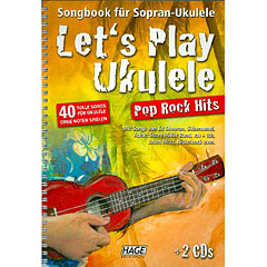 Hage Let's Play Ukulele Pop Rock Hits « Bladmuziek