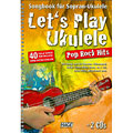 Libro di spartiti Hage Let's Play Ukulele Pop Rock Hits
