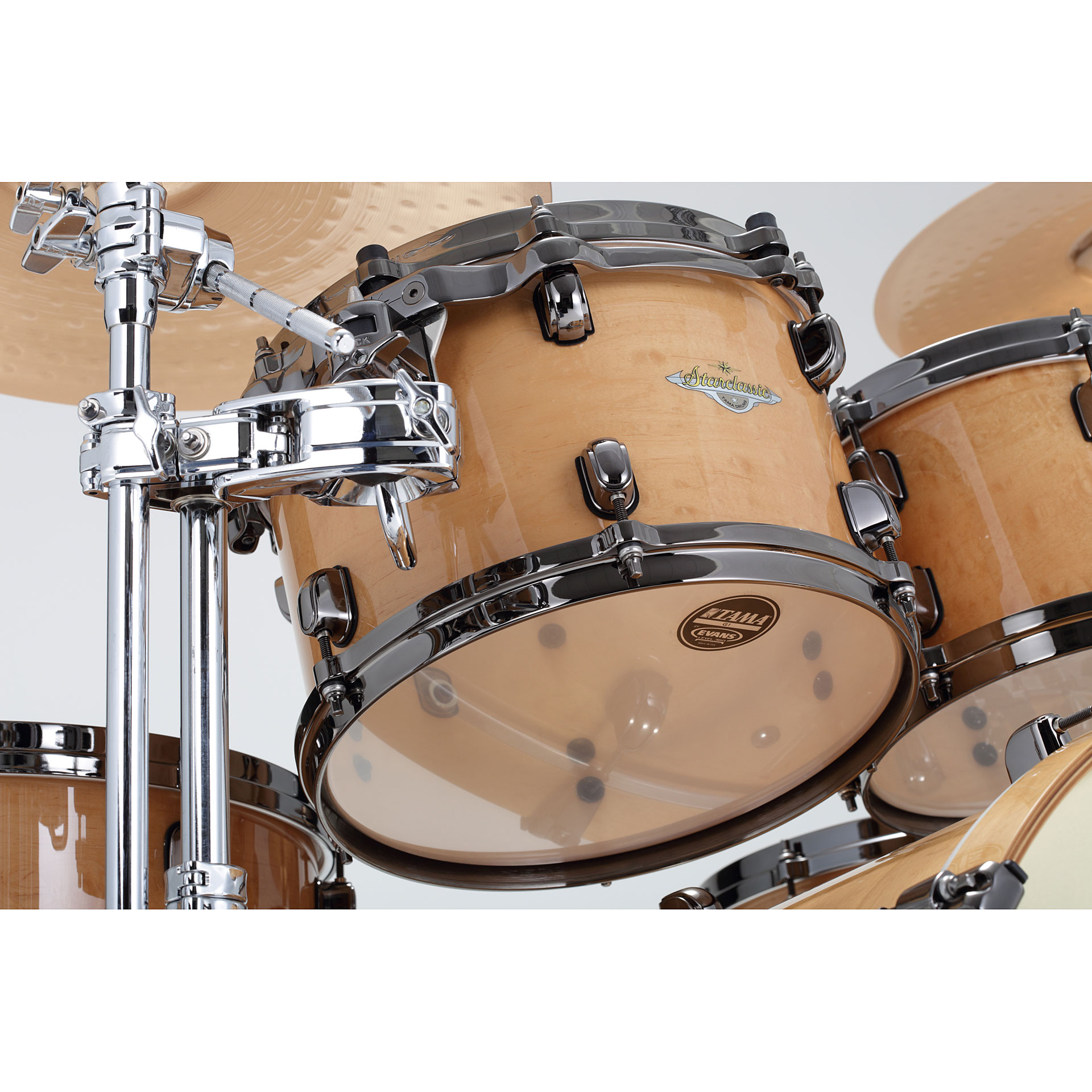 Tama Starclassic Maple Me42tzbs Gfmg 171 Drum Kit