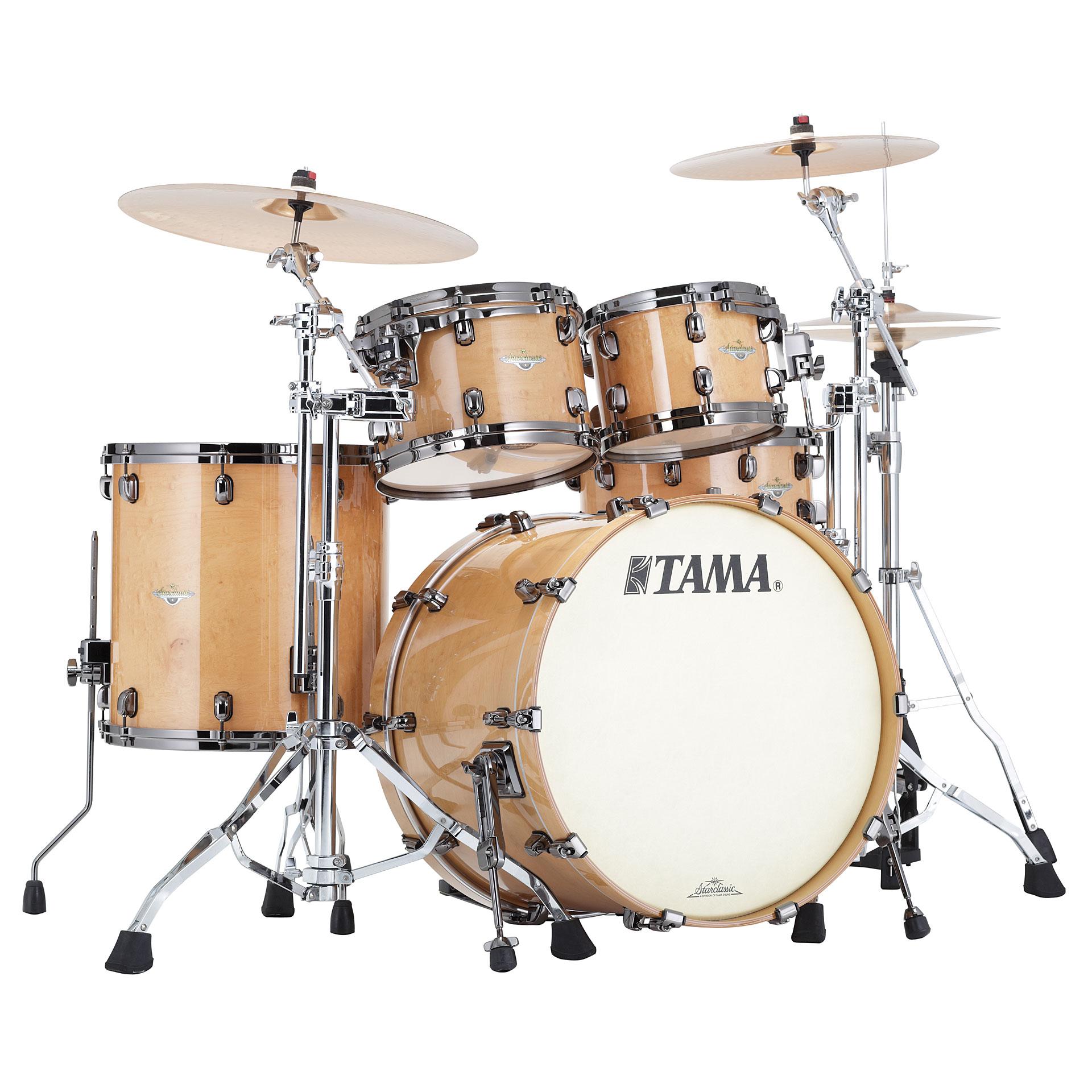Tama Starclassic Maple Me42tzbs Gfmg 171 Drum Kit