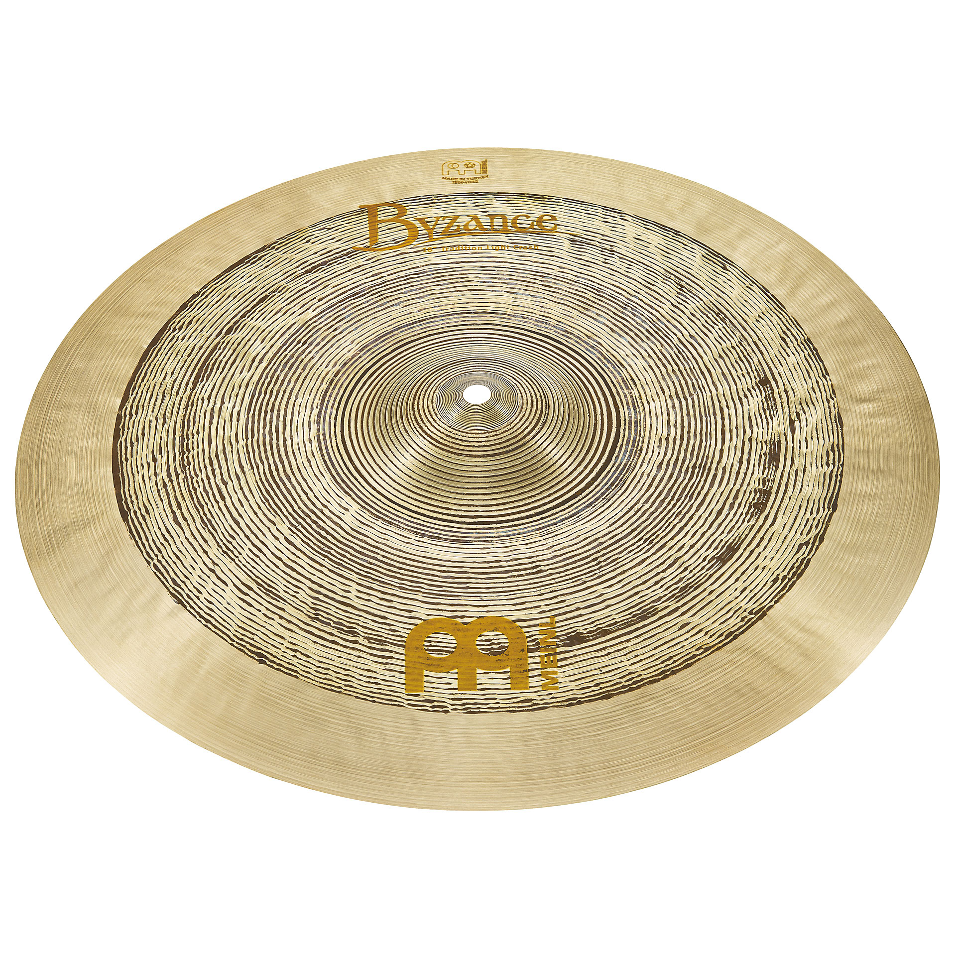 meinl byzance jazz 18 tradition light crash crash cymbal. Black Bedroom Furniture Sets. Home Design Ideas