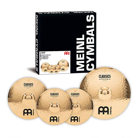 Sets de platos Meinl Classics Custom Complete Cymbal Set 14/16/20