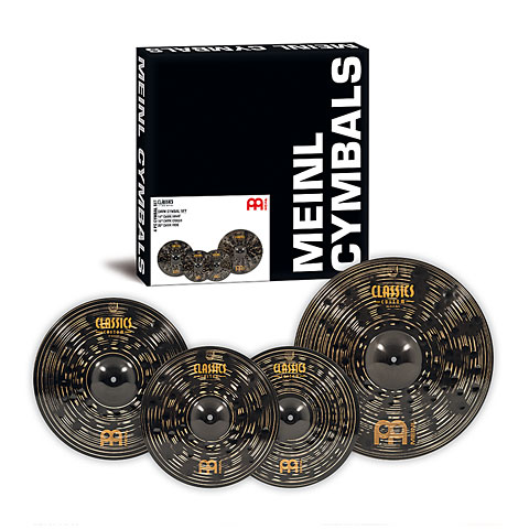 Meinl Classics Custom Dark 14/16/20 Complete Cymbal Set