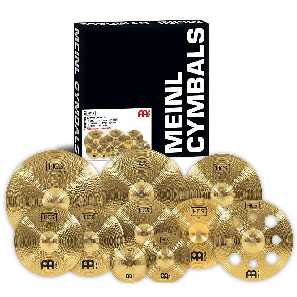 meinl hcs ultimate cymbal set cymbal set. Black Bedroom Furniture Sets. Home Design Ideas