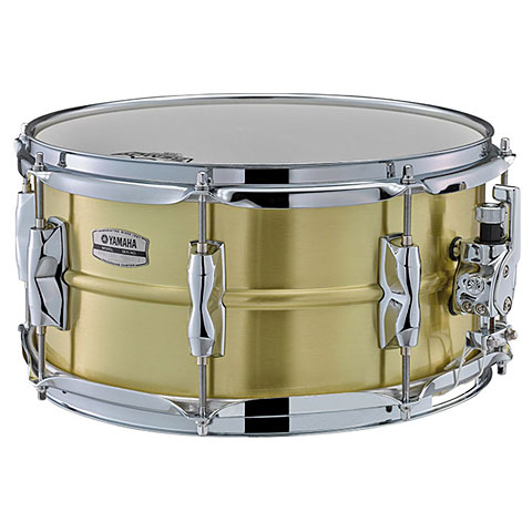 "Caja Yamaha Recording Custom 13"" x 6,5"" Brass Snare"