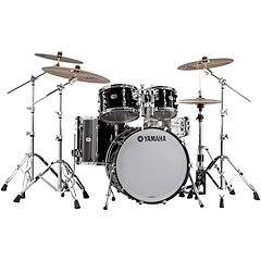 "Yamaha Recording Custom 20"" Solid Black Fusion « Drum Kit"