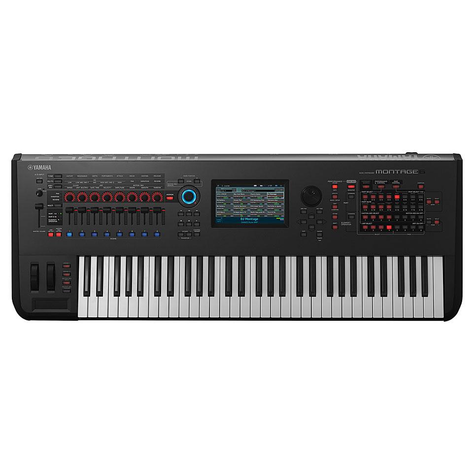 Synthesizer - Yamaha Montage 6 Synthesizer - Onlineshop Musik Produktiv