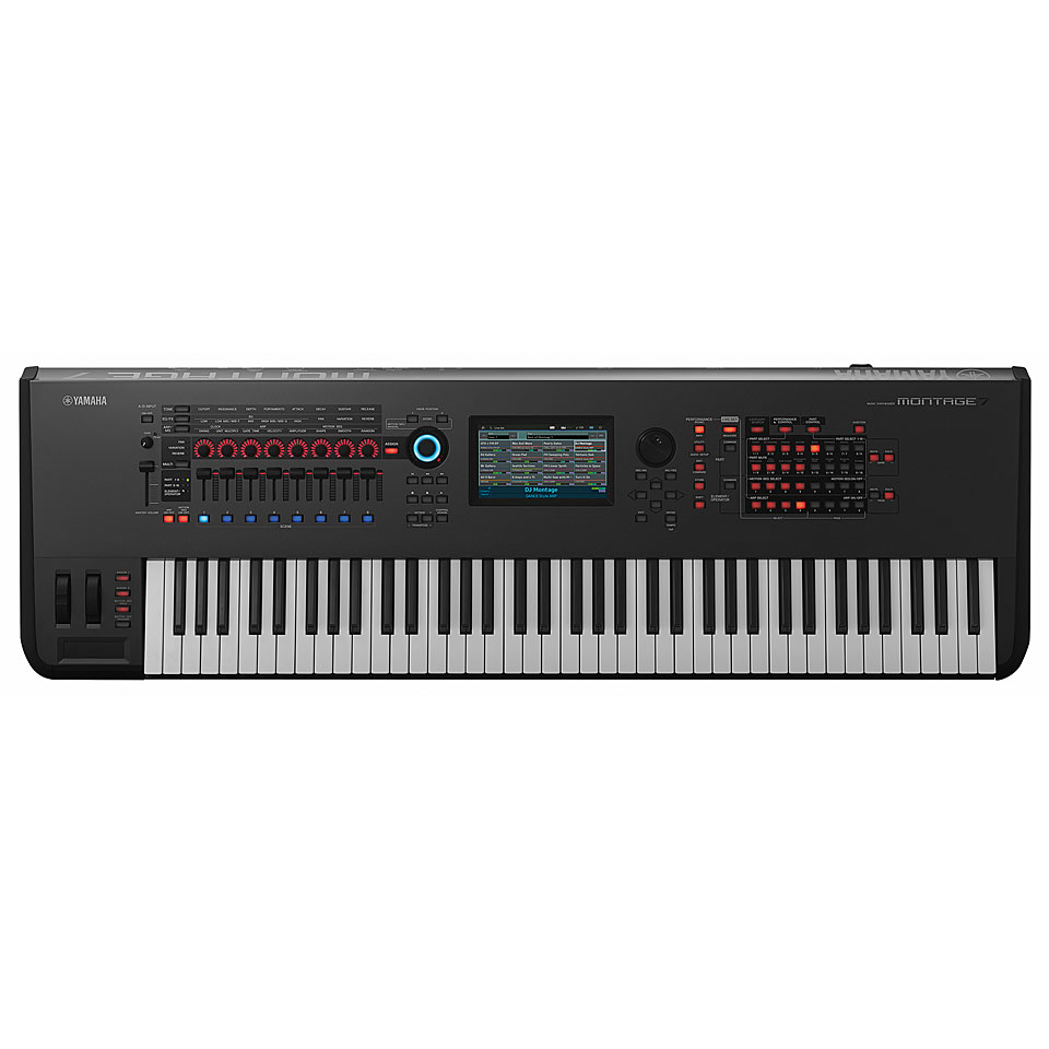 Synthesizer - Yamaha Montage 7 Synthesizer - Onlineshop Musik Produktiv