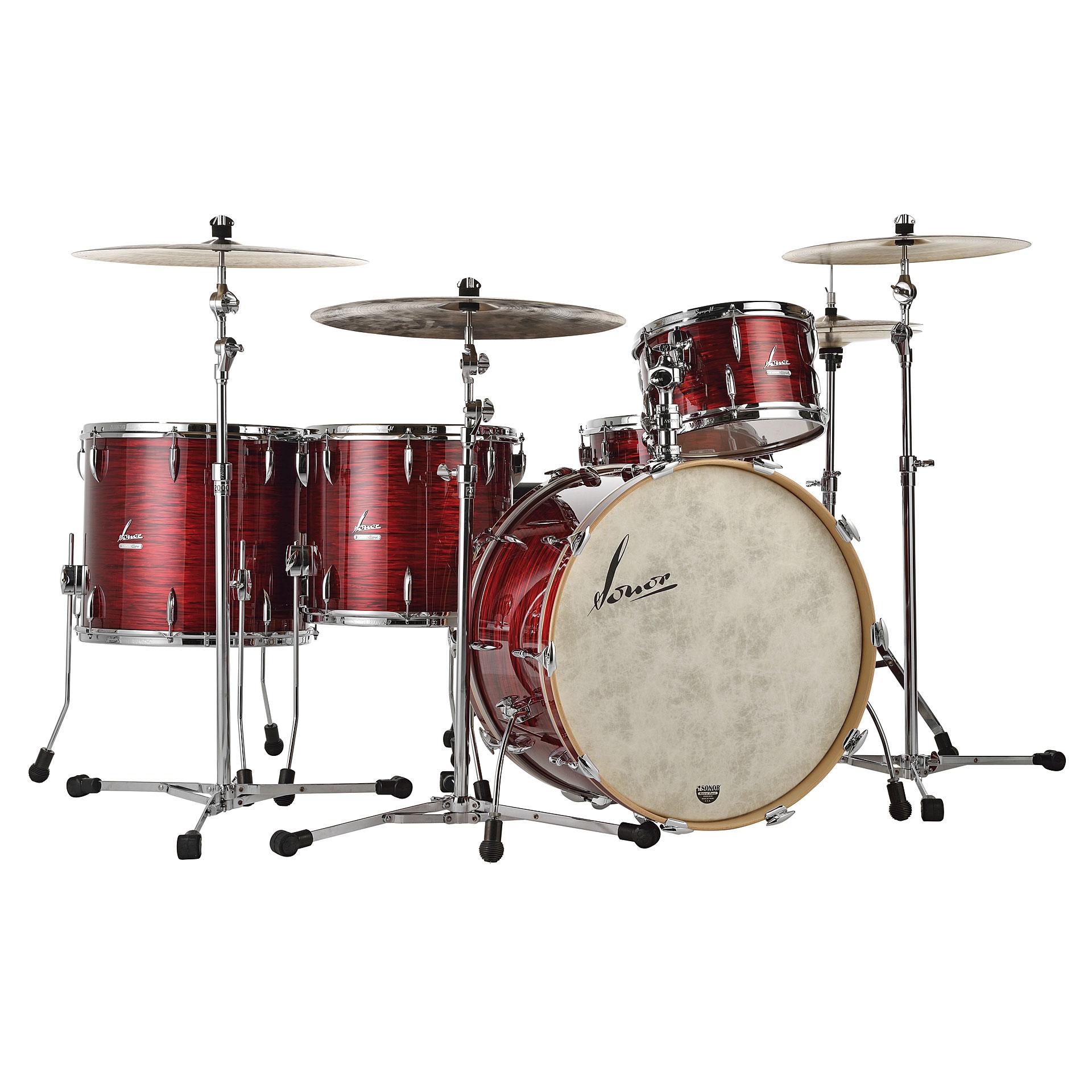 sonor vintage series vt16 rock 2 red oyster drum kit. Black Bedroom Furniture Sets. Home Design Ideas